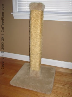 How To Build A Cat Scratching Tree
