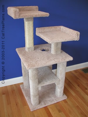 Cat Tower Plans 2 Detail 1