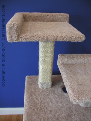 Cat Tower Plans 2 Detail 2