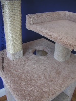 Cat Tower Plans 2 Detail 4