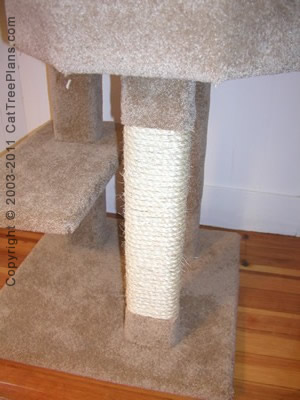 Cat Tower Tree Plans 10 Detail 3