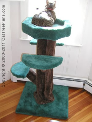 Cat Tree House Plans 3 Detail 3