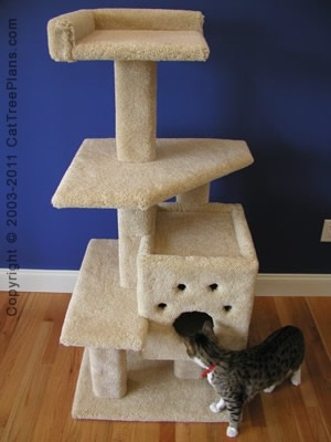cat tree plan Cat Tree Instructions Plans 4 Detail 1
