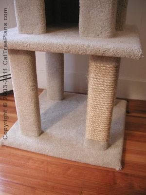 Cat tree plan 7 cat tree plans for Cat climber plans