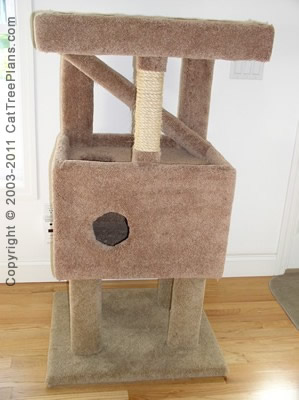 cat tree plan Cat Tree Plans Diy 8 Detail 1