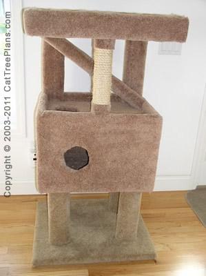 Cat Tree Plan 8 Plans
