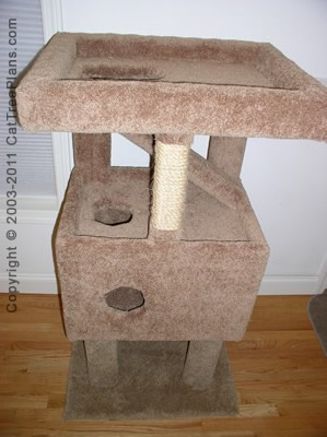 Cat Tree Plans Diy 8 Detail 3