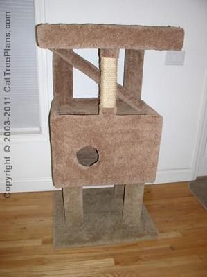 Cat Tree Plans Diy 8 Detail 4