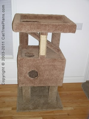 Cat Tree Plans Diy 8 Detail 5
