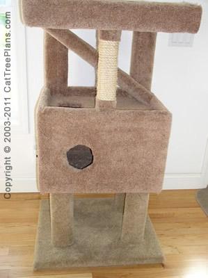 Cat Tree Plans Diy 8 Detail 6