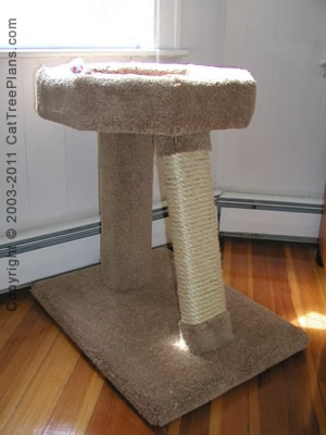 cat tree plan Cat Window Perch Plans 6 Detail 1