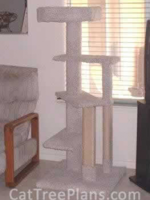 how to make a cat tree Cat Tree Plans Customer 000
