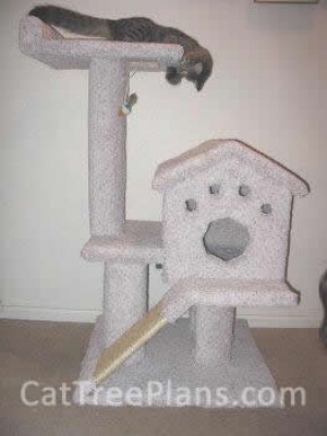 how to make a cat tree Cat Tree Plans Customer 002