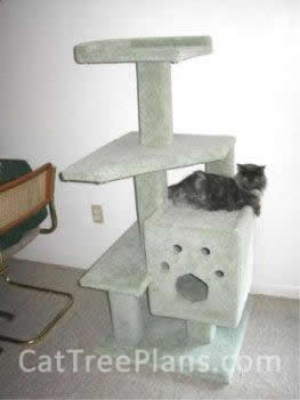 how to make a cat tree Cat Tree Plans Customer 004