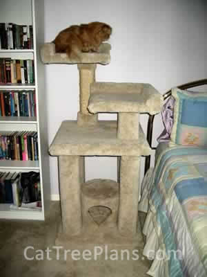 how to make a cat tree Cat Tree Plans Customer 011