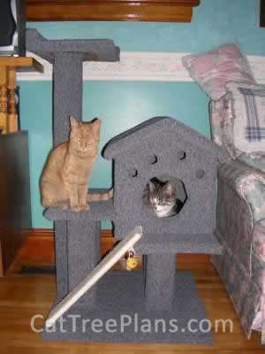 how to make a cat tree Cat Tree Plans Customer 026