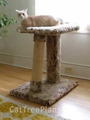 how to make a cat tree Cat Tree Plans Customer 031