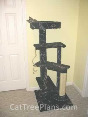 how to make a cat tree Cat Tree Plans Customer 038
