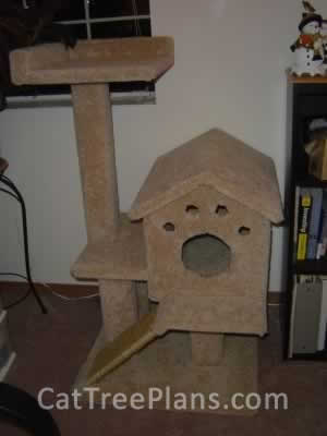 how to make a cat tree Cat Tree Plans Customer 039