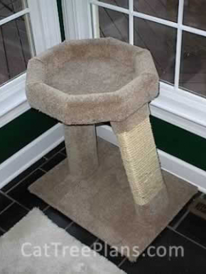 how to make a cat tree Cat Tree Plans Customer 045