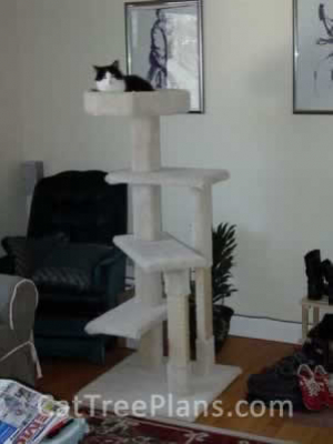how to make a cat tree Cat Tree Plans Customer 060