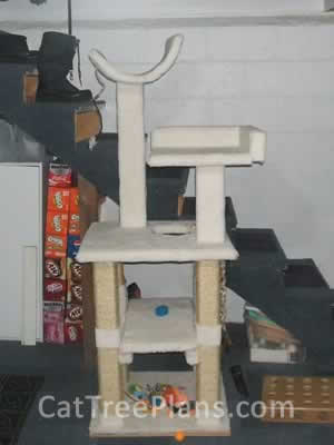 how to make a cat tree Cat Tree Plans Customer 083