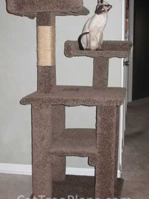 how to make a cat tree Cat Tree Plans Customer 087