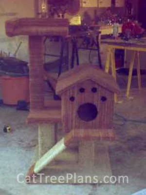 how to make a cat tree Cat Tree Plans Customer 119
