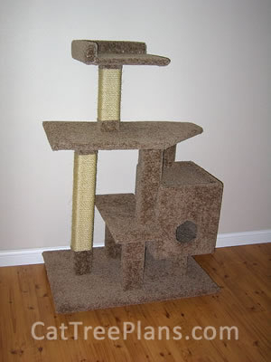 how to make a cat tree Cat Tree Plans Customer 127