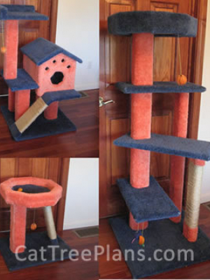 how to make a cat tree Cat Tree Plans Customer 139