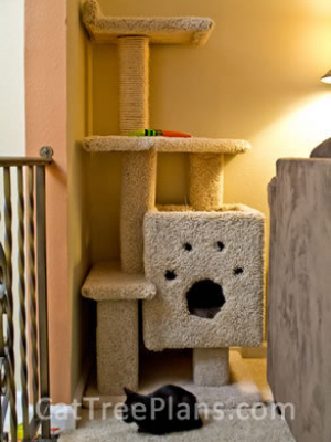 how to make a cat tree Cat Tree Plans Customer 144