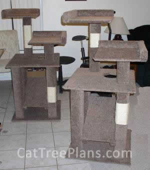 Cat Tree Plans Customer 007