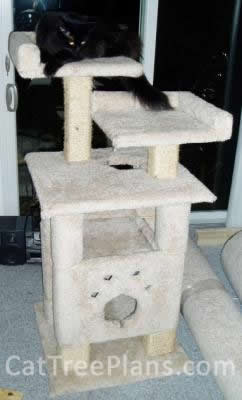 Cat Tree Plans Customer 014