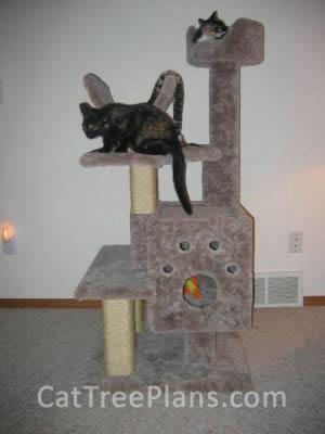 Cat Tree Plans Customer 025