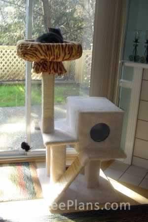 Cat Tree Plans Customer 027