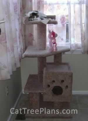 Cat Tree Plans Customer 041