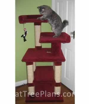 Cat Tree Plans Customer 042