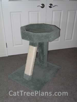 Cat Tree Plans Customer 048