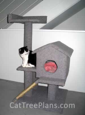 Cat Tree Plans Customer 049