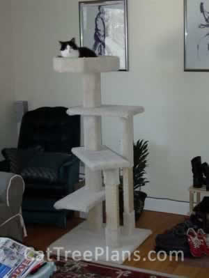 Cat Tree Plans Customer 060