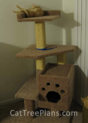Cat Tree Plans Customer 082