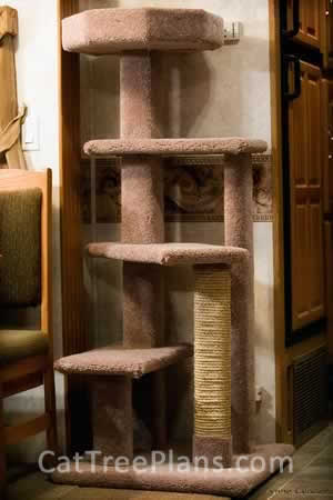 Cat Tree Plans Customer 084