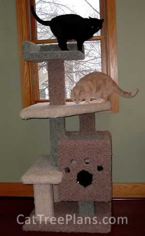 Cat Tree Plans Customer 085