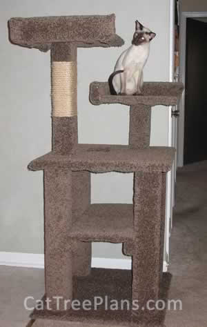Cat Tree Plans Customer 087