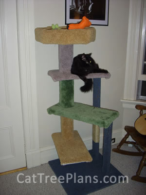 Cat Tree Plans Customer 099