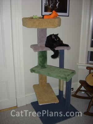 Cat Tree Plans Customer 099