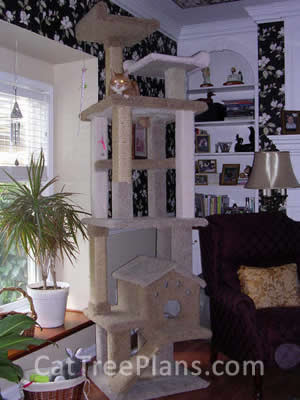 Cat Tree Plans Customer 101