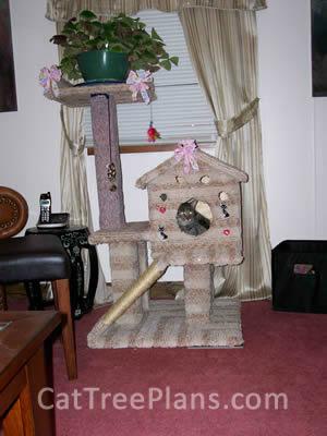 Cat Tree Plans Customer 107