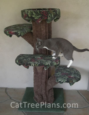 Cat Tree Plans Customer 108