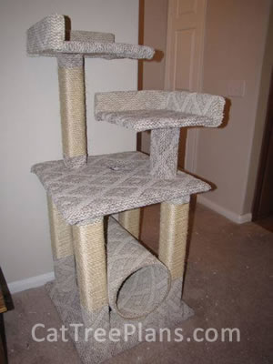 Cat Tree Plans Customer 110